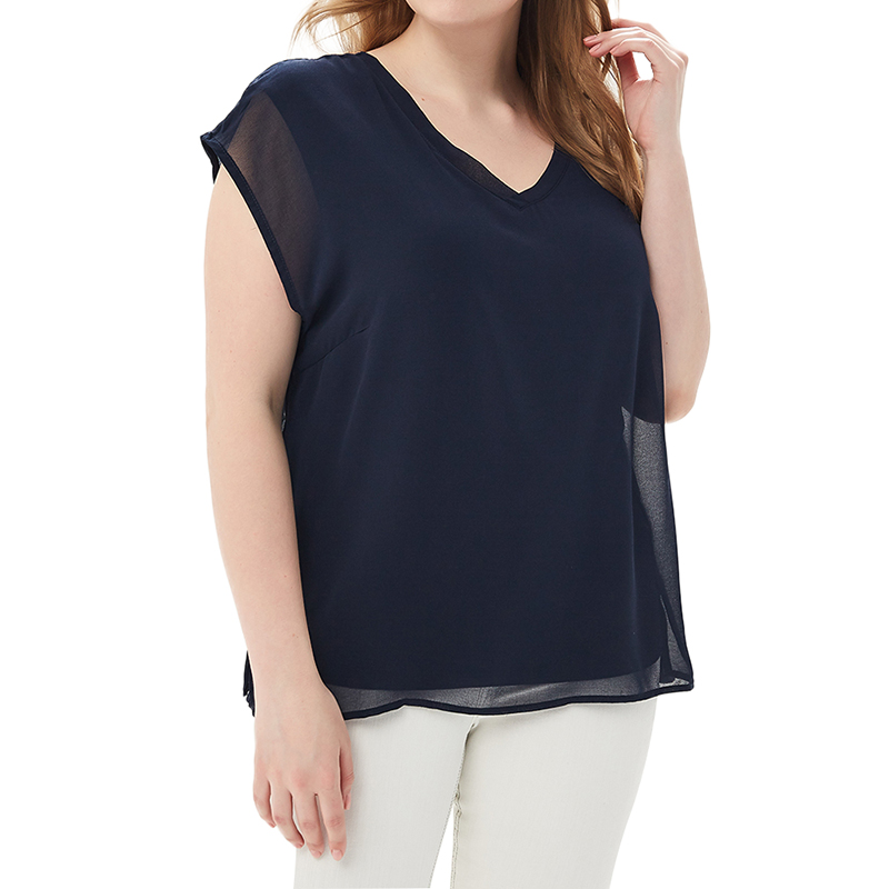 Blouses & Shirts MODIS M181W00507 women blouse shirt  clothes apparel for female TmallFS