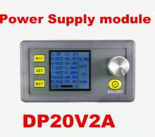 DP20V2A  Voltage converter LCD display voltmeter Constant Voltage and current Step-down Programmable Power Supply buck module