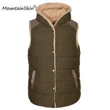 2016 neue Winter männer Kapuzen Westen Männer Casual Thermische Ärmellose Jacken Männlichen Mode Warme Dicke Hoodies Marke Kleidung LA091