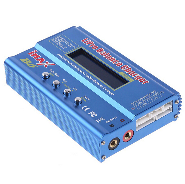 New imaxRC iMAX B6 80W Lipo NiMh Li-ion Ni-Cd RC Battery Balance Digital Charger Discharger Carregador E Balanceador Inteligente