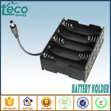 (1pcs/lot) 10 AA Battery Holder 15V/12V battery Box With Plug 5.5*2.1 TBH 2A 10ES