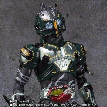 """KamenRiderAmazons"" Original BANDAI SPIRITS Tamashii Nations S.H. Figuarts / SHF Exclusive Action Figure - Masked Rider Neo Alfa"