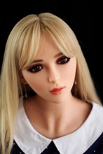 165cm Top quality angle ear life size silicone sex doll NEW breast, japanese real love doll, adult doll vagina real pussy anal