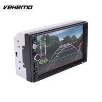 VEHEMO 7 Inches 2Din Car Bluetooth Touch Screen Stereo FM Radio MP5 AV Player 7010B