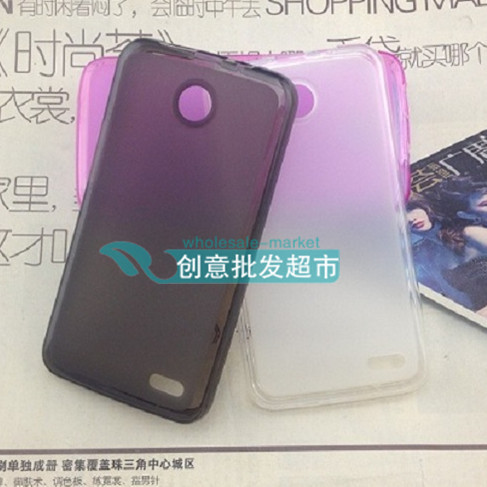 TPU Matte soft case (1 pcs)  for Lenovo A820  cell phone cover