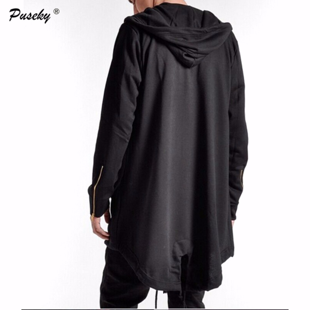 2017 Fall Fashion Long Sleeve Jacket NEW Hot Mens Hoodie Jacket Casual Wear Hooded Sweat Warm Cloak Mens Coats Outwear M-XXXL