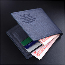 Man Wallet Simple Design Money purse Wallets Men Ultrathin Card holder Coins Purses Pockets D1054-10
