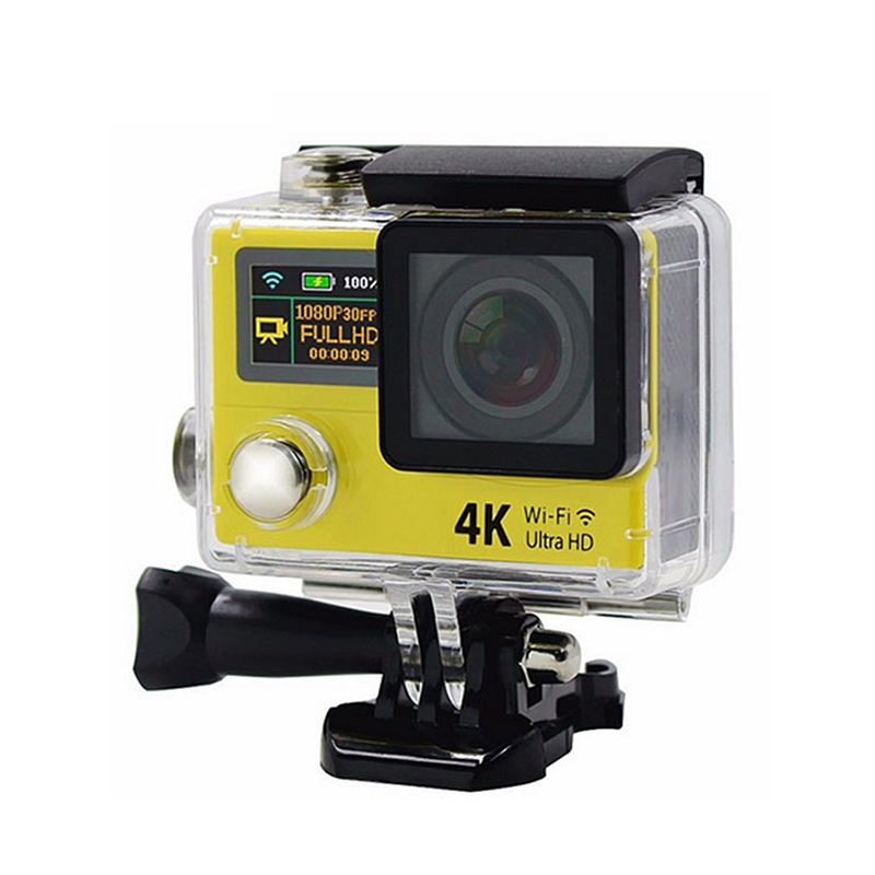 Ultra HD 4K Wifi Action Camera H3R 2.4G Remote Control Sports HD Helmet DV Camcorder 2 inch go Waterproof pro Cam h9 ultra hd 4k wifi 2 0 inch bicycle snorkeling surfing helmet sport camera video camcorder waterproof 30 meters under water