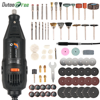 Dutoofree Power Tools Electric Mini Drill With Flex Shaft Rotary Tools Accessories For Dremel Drill Tools Electric Hand Drill|Electric Drills|   -