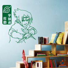 Naruto wall stickers Japanese Cartoon Naruto Art Wall Decals wall covering Kids Room decoration home decor