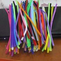 1000pcs Multicolor Chenille Stems Pipe Cleaners Handmade DIY Material Creative Early Education Toy for kindergarten Kids