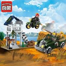 1708 ILUMINAI Militar WW2 EUA Exército Piloto Soldado Batalha Modelo Building Blocks DIY Figura Brinquedos Para As Crianças Compatíveis Legoe