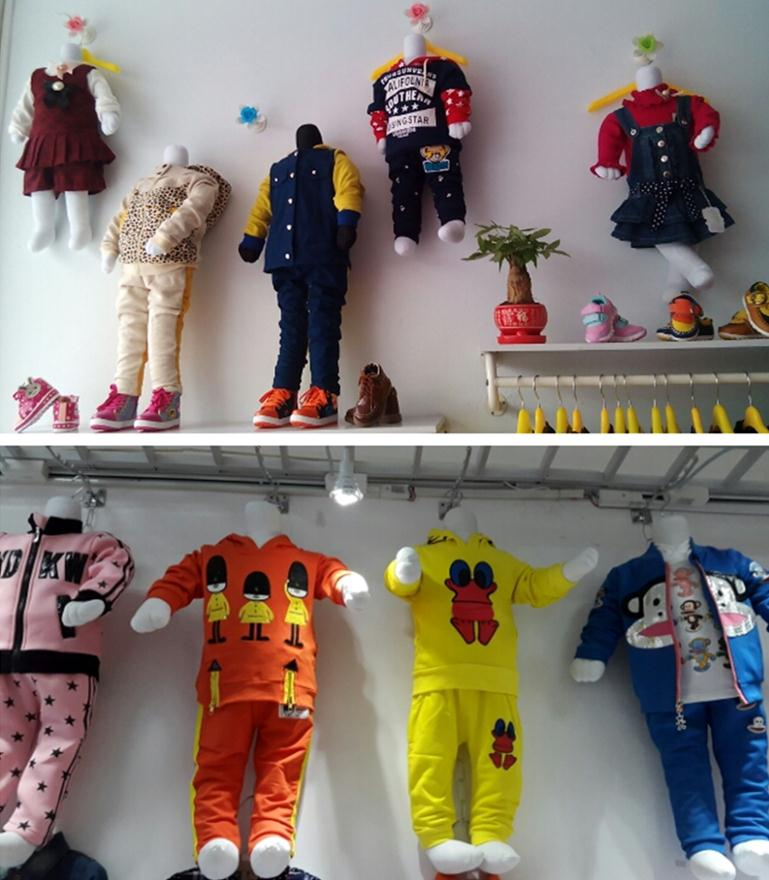 Wholesale 1pcs Height 65cm Unisex Children Mannequin For Clothes Full Body Display Stand And Sitting 0-1 Year Old