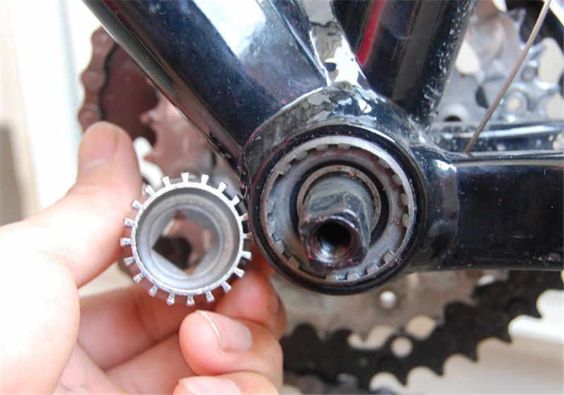 2019 zona de Ciclo bicicleta de montaña bicicleta inferior removedor de soporte herramienta de reparación para llave ajustable