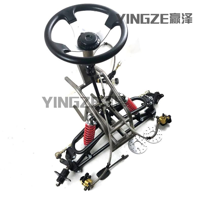 Fine Go Kart Karting Four Wheel Atv Utv Steering Rack Disc Brake Front Suspension Frame Swingarms With Steering Wheel Shock Absorbers Special Summer Sale Atv,rv,boat & Other Vehicle Back To Search Resultsautomobiles & Motorcycles