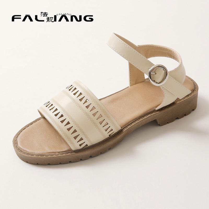 ФОТО Big Size 11 12 13 14 15 Square heel Summer new  Fashion sandals  women's sandals women's shoes woman for women platform shoes