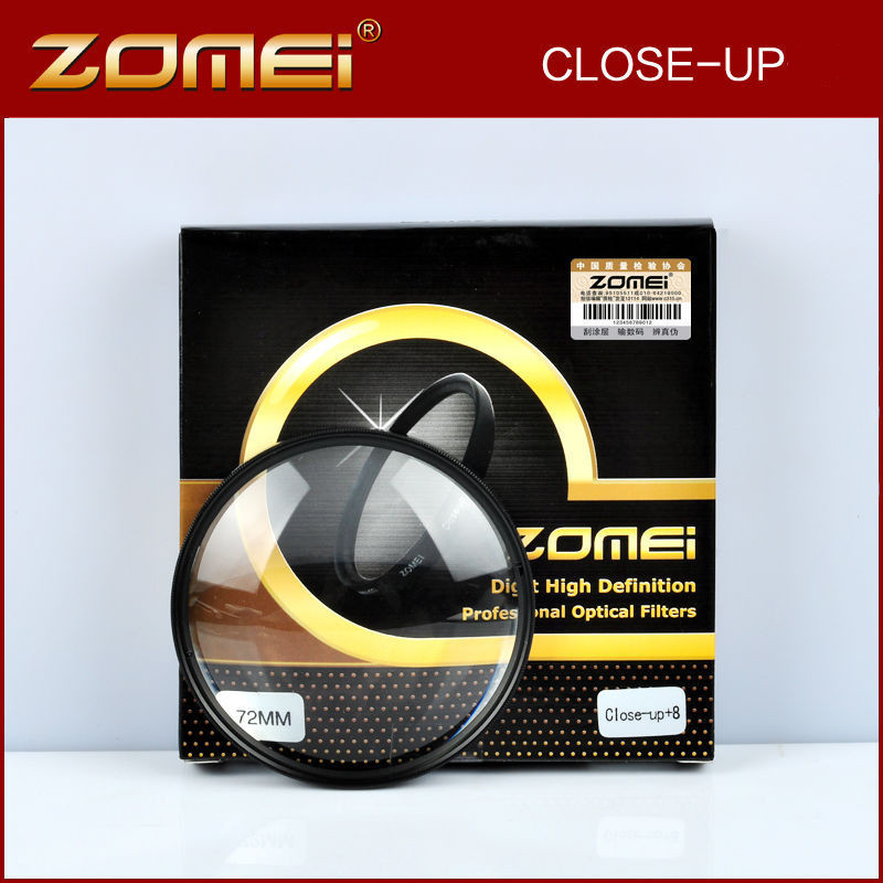 ZOMEI 52 55 58 62 67 72 77 82mm Macro Close Up Lens Filter Kit + 1 + 2 + 3 + 4 + 8 + 10 Per Canon Nikon Sony Tamron EOS DSLR