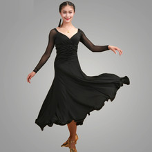 7 colors flamenco dresses spanish clothing standard dance dresses dance ballroom waltz dresses tango modern dance costumes