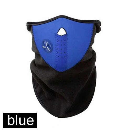 Bulu Masker Salju Ringan Anti Debu Helm Leher Sepeda Ski Balap Ski Motor Sport Tutup Kepala