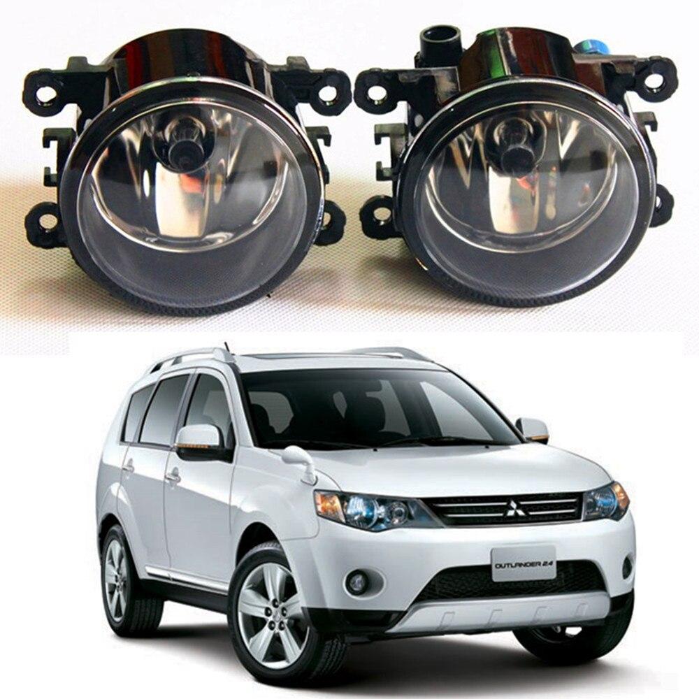 For MITSUBISHI OUTLANDER II CW_W Closed Off-Road Vehicle  2006-2012 Fog Lamps Car styling Fog Lights Halogen  1SET seintex 00560 для mitsubishi outlander ii 2006 2012