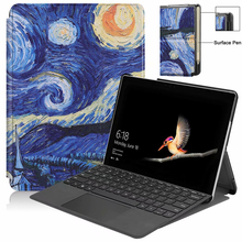 PU Leather Fundas For Microsoft Surface Go 10