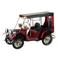 Vintage Metal Car Crafts Metal Antique Cara model desktop Decoration Children Toys Birthday Gift Home Decoration
