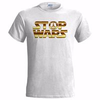 STOP WARS PEACE CND ANTI WAR LOVE FREEDOM GIFT PRESENT PORTMAN Cool Funny T Shirt Men