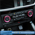 For MAZDA CX-5 cx5 AXELA Air Conditioning Switch Knob sticker central control decoration trim for cx-5 accessories