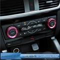 For MAZDA CX-5 cx5 AXELA Air Conditioning Switch Knob sticker central control decoration trim for cx-5 accessories