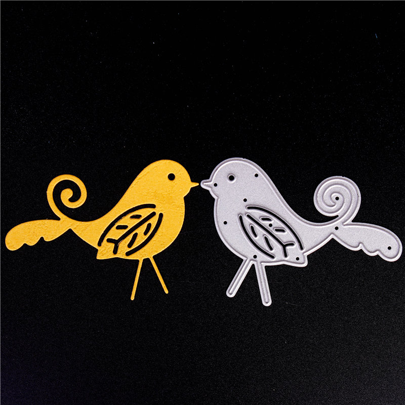 Metal Cutting Dies for Diy Scrapbooking Die Cut New 2018 Cuts for Paper Card Making Craft Embossing Photo The bird