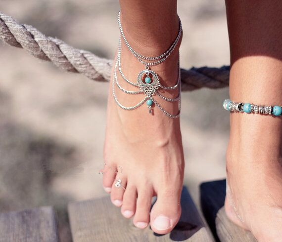 Bohemian Anklet Chain