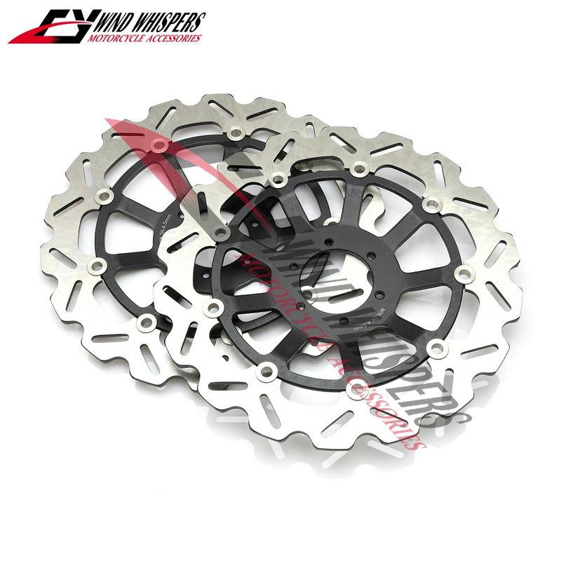 Motorcycle Flower Front Brake Disc Rotor For Honda CBR1100XX Blackbird 99 08 CB1100SF X 11 SC42 00 04 CB1300 SC401284CC 01 02 In Disks From