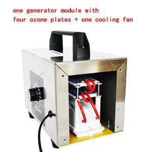 Image 4 - ATWFS 48g генератор озона 220v 20g/10 Гц/ч очиститель воздуха озонатор ароматизатор очиститель воздуха Озон O3 генератор озонатор