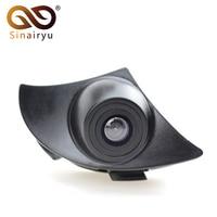 Sinairyu CCD Car Auto Vehicle Mark Logo Camera for Toyota Prado Land Cruiser Highlander Camry RAV4 Corolla Front View Camera
