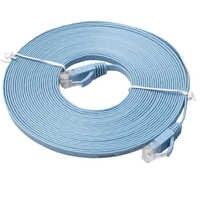 Câble de raccordement Ethernet réseau plat CAT-6 RJ45 pour Modem routeur réseau LAN connecteur RJ45 50 cm 1 m 2 m 3 m 5 m 10 m 15 m