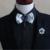 Nuevo Envío Libre de moda casual masculina de Los Hombres de múltiples capas collar de diamantes arco Coreano corbata boda del novio del padrino en venta