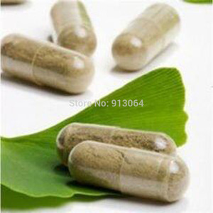 Buy five get one free100 capsules Organic Ginkgo Biloba Leaves Extract Powder capsule Natural Yinxing Wild Lower Blood Pressure