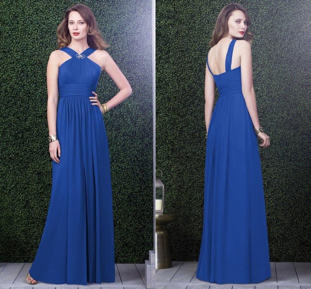 adec8e54d348 Vestito Da Damigella Blu ~ Vestito da damigella royal blue i vestiti sono  popolari
