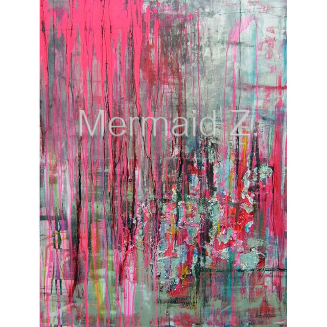 hand painted Abstract oil painting Modern Abstract Painting Canvas ...