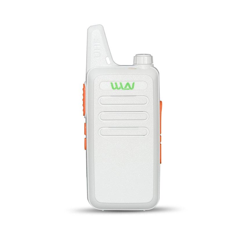 2pcs-lot-WLN-KD-C1-White-Walkie-Talkies-UHF-400-470-MHz-Mini-Portable-Ham-Radio