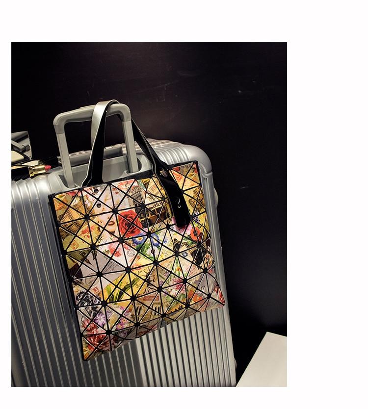 79d89f27096 Hot Sale BAOBAO Bag Folding Handbag fashion handbags Bao Bao Bag Fashion  Casual Tote Fashion Women Shoulder Bag Japan Quality 17-in Top-Handle Bags  from ...
