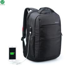 Внешняя Зарядка Функция USB Ноутбука Рюкзак противоугонные Деловой Человек вещевой мешок Dayback Женщины Едут сумки на ремне 15.6 дюймов
