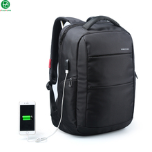 External Charging USB Function Laptop Backpack Anti-theft Man Business duffel bag Dayback Women Travel shoulder bags 15.6 inch