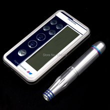 2016 Newest professional Digital Permanent Makeup Machine Tattoo Eyebrow Lips Machine Kit With LCD Power Supply
