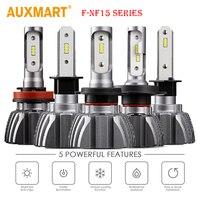 50w Pair H4 H13 Hi Low Beam Cree CSP Chips 6000lm LED Headlight Bulb H7 9005