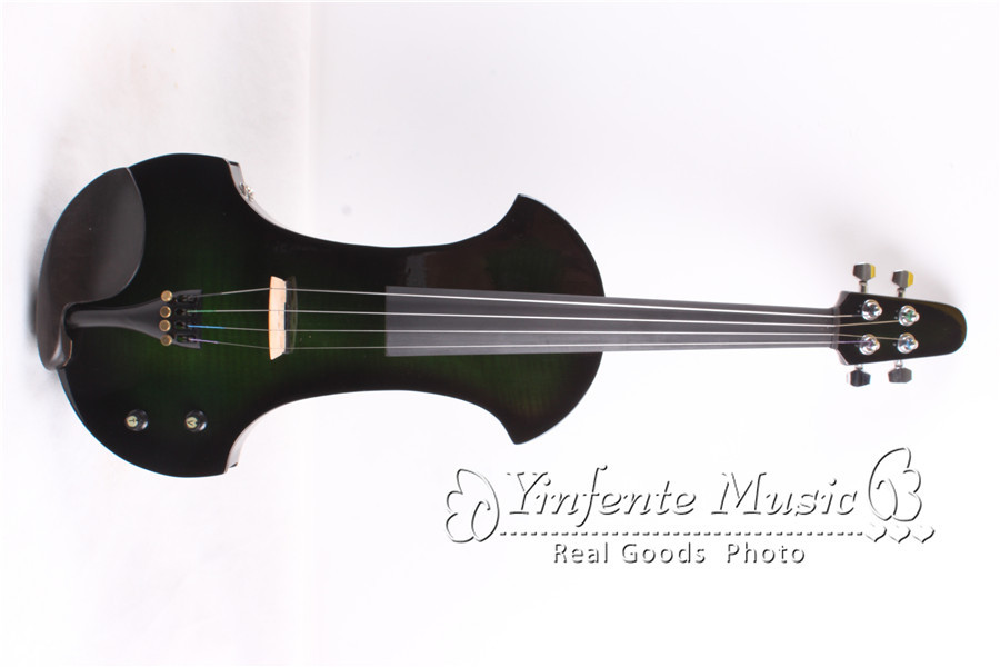 new 4 string 4 4 electric violin flame guitar shape powerful sound big jack 4 in violin from. Black Bedroom Furniture Sets. Home Design Ideas
