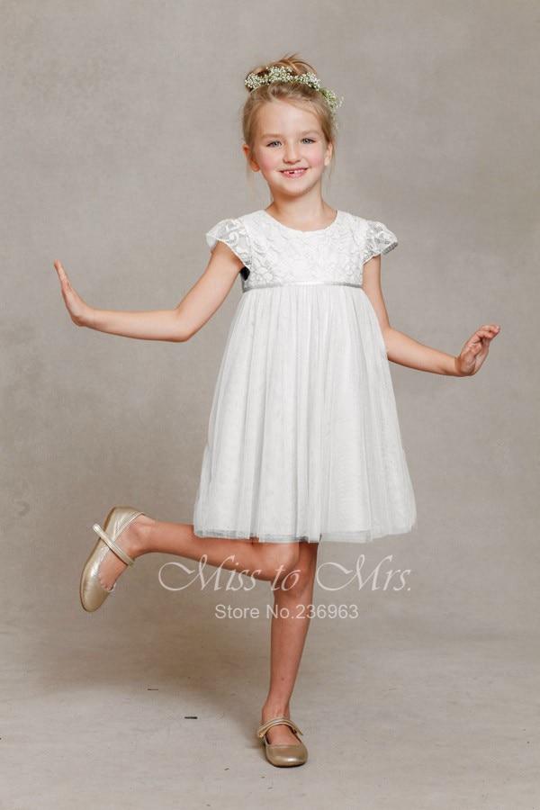 Simple Flower Girl Dresses - Dress Xy