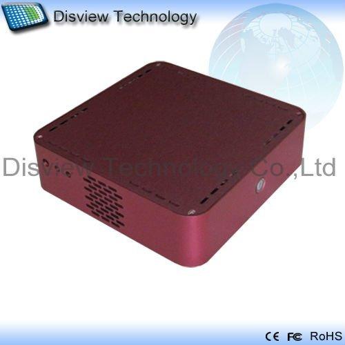 Ultra-small size Mini PC Computer_DIN27C1-UDL: CPU N270 1.6GHz/RAM 2GB/ HDD 250GB/Dual RJ45 ITX