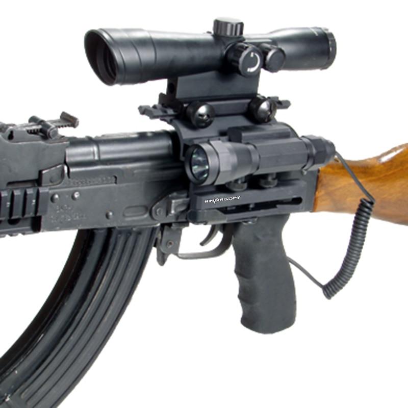 SINAIRSOFT gyorskioldó AK állvány Taktikai dupla Picatinny sínek - Lövés - Fénykép 6