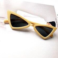 DAVE Personalidade Do Gato Olho Óculos De Sol Das Mulheres de Design Da  Marca Borboleta Irregular 72998abce1